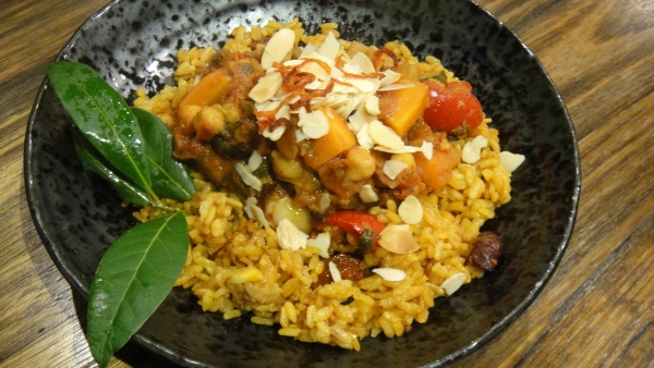 A Moorish Spanish Rice