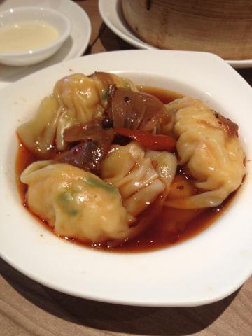 Tim Pangsit Szechuan - 四川红油饺子皇 - Steamed Szechuan Style Dumpling