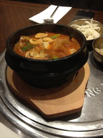 Pork Kimchi Jigae - 돼지고기 순두부찌개