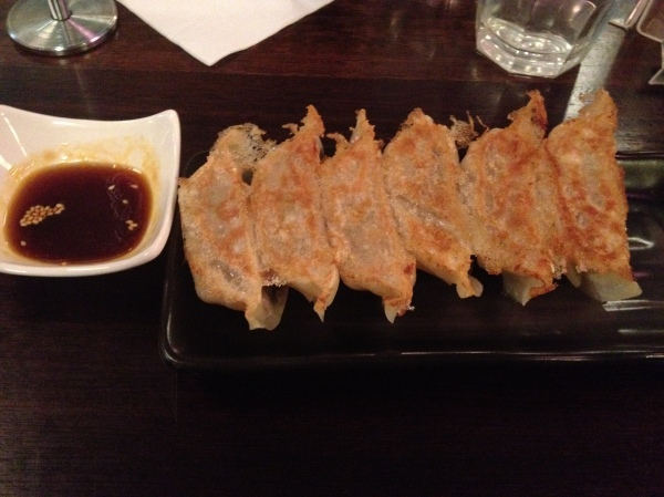 Kokoro's Homemade Pork Gyoza (Pan Fried - 6 pieces) ($5.50)