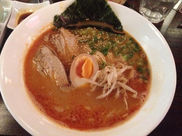41 Sapporo Miso - Miso Ramen ($12.50)
