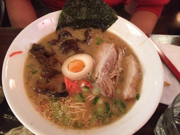 13 Tonkotsu Shoyu - Pork Belly ($14.50)