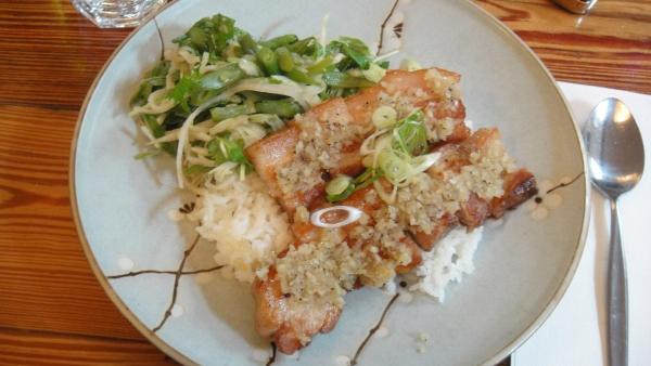 Grilled Pork Belly ($16)