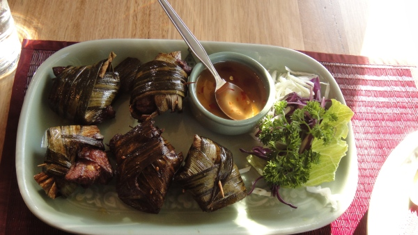 Gai Hor Bai Toey ($9.50)