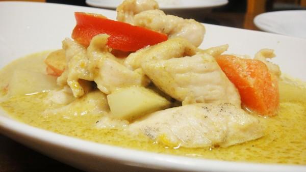 Thai Green Curry w/ Chicken ($11.90)
