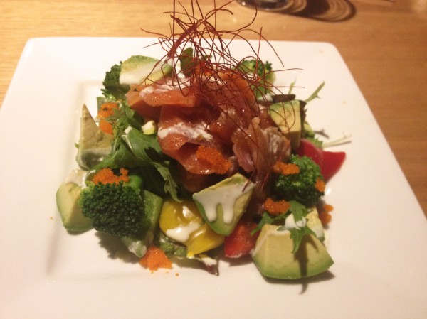 Smoked Salmon Salad ($12)