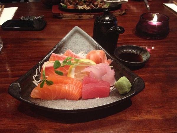 Small Sashimi ($14.50)