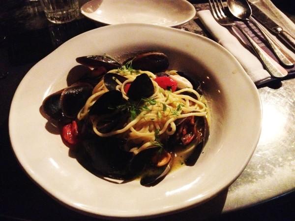 Mussel Linguini ($24)