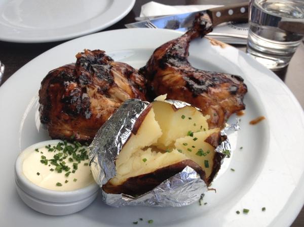 BBQ Half Chicken ($21)
