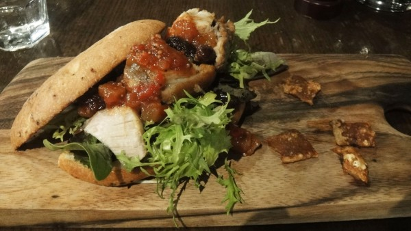 Swiss Roast Porkbelly on Flatbread ($15.90)