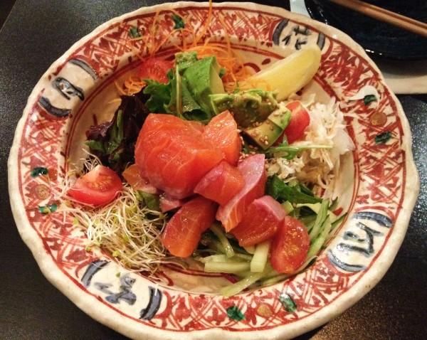 Salmon & Avocado Salad ($11.80)