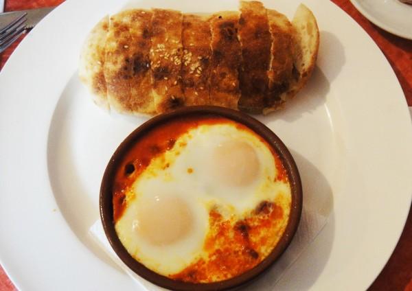 Spanish Eggs ($17)