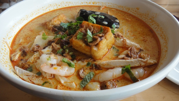 Combination Curry Laksa ($9.80)