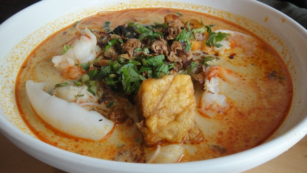 Seafood Curry Laksa ($13.20)