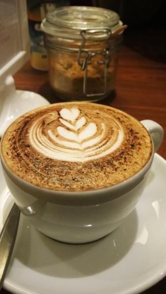 Cappuccino ($3.80)