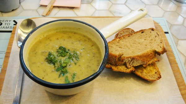 Souper Soup of the Day ($13)