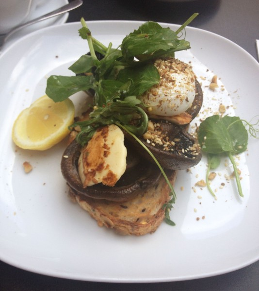 Grilled Mushrooms ($16.50)