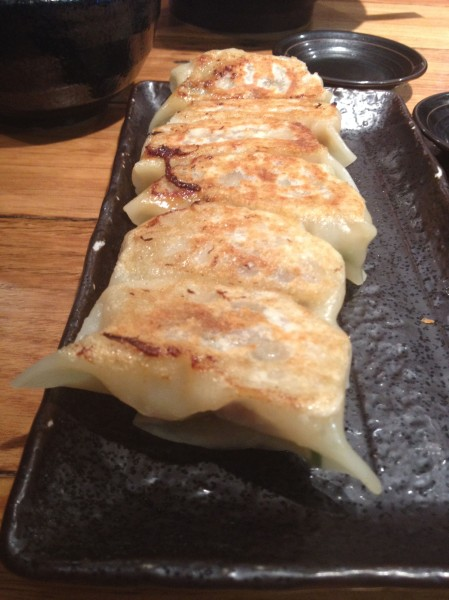 Housemade Gyoza Dumplings ($5.50)
