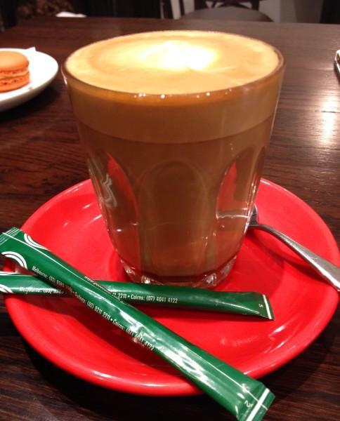 Caramel Latte ($3.80)