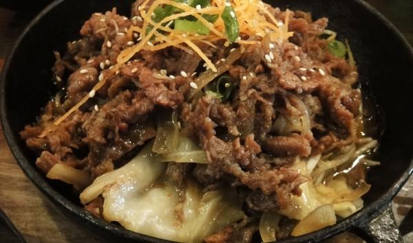 Korean BBQ Beef ($15)