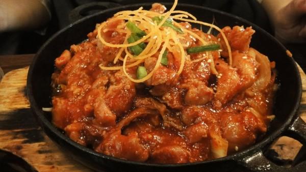 Korean BBQ Chicken ($15)