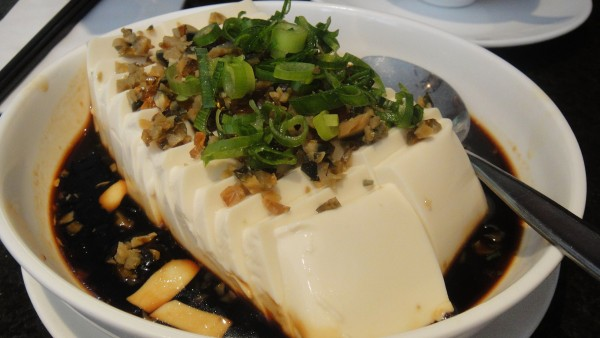 Fresh Beancurd w/ Preserved Egg - 皮蛋豆腐 ($8.80)