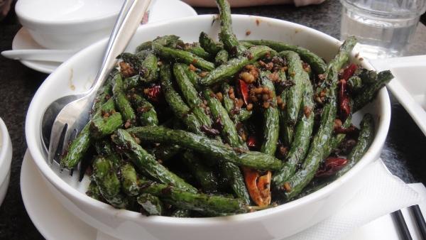 Stir Fried String Beans w/ Minced Pork in Chili Sauce - 干煸四季豆 ($15.80)