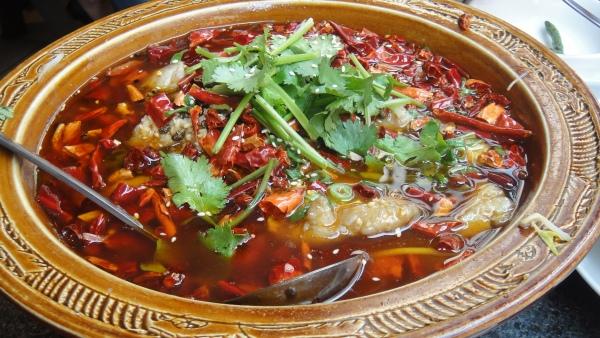 Fish Fillet in Hot Chili Oil - 沸腾水煮鱼 ($28.80)
