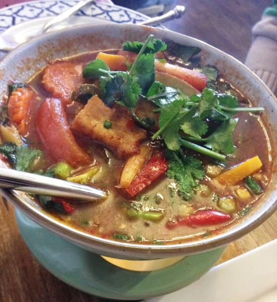 Tom Yum - Tofu & Vegetables ($16.90)