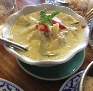 Green Curry Chicken ($16.90)