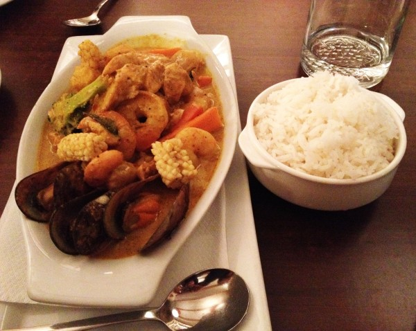 Seafood Curry ($37.50)
