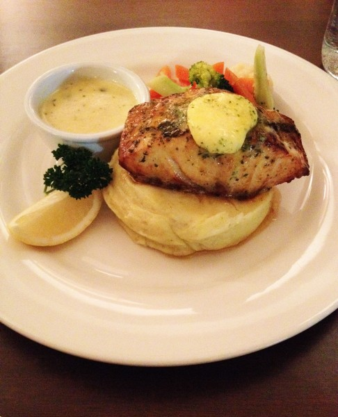 Fish of the Day (Grouper w/ Mashed Potatoes & Steamed Vegetables - $37.50)