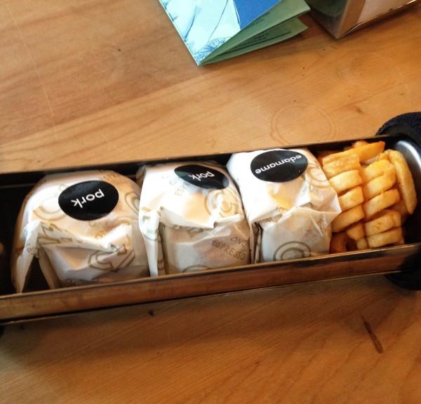 Pulled Pork Shoulder & Courgette and Edamame Fritter ($20)
