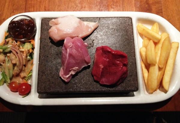 Custom Grill - Chicken, Beef, Pork ($25.50)