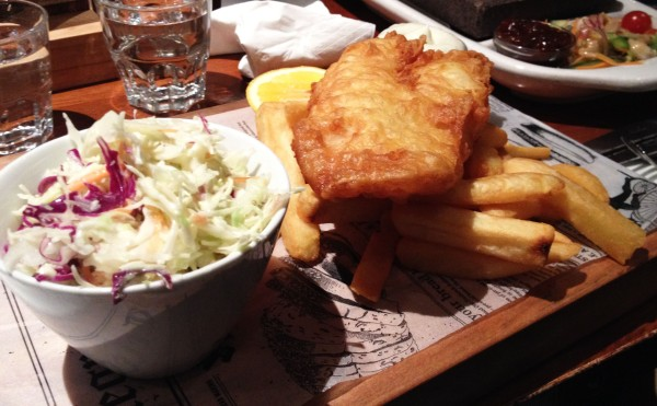 Fish n' Chips ($28)