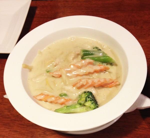 Thai Green Curry Chicken ($18.90)