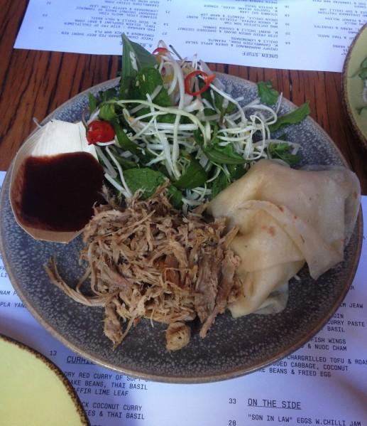 Chin Chin Pork 'Roll Ups' ($20.50)