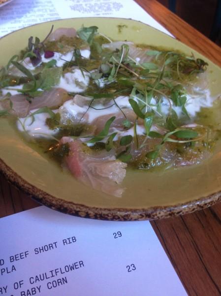 Kingfish Sashimi ($23)