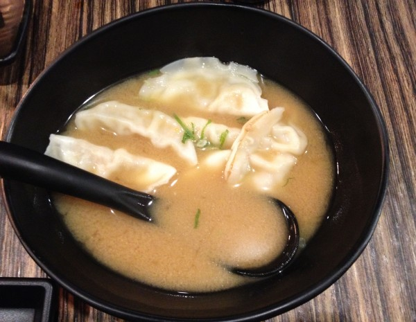 Soup Gyoza - Kimchi Pork
